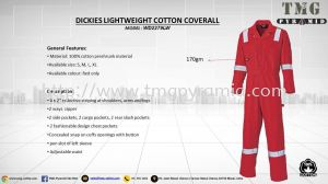 NEW STOCK DICKIES COVERALL