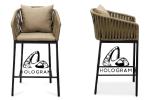 COSTA BAR STOOL BAR CHAIR Outdoor Furniture Home Furniture