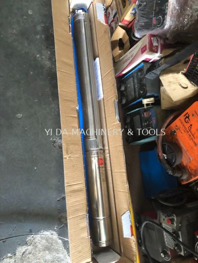 "Sand Resistant Pump 1-1/4"" 2.2kW 20~100L/min 162~63m 4SR4/26-PD"