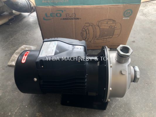 LEO AMS210/1.5 Stainless Steel Centrifugal Pump (2HP/290Lmin/38mm x 32mm)