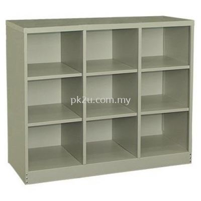 9 Pigeon Hole Cabinet
