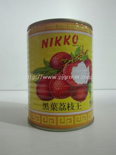 Nikko Lychees Whole 565gm