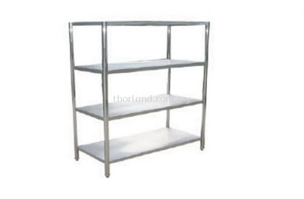 (C120) 4 Tier Solid Rack
