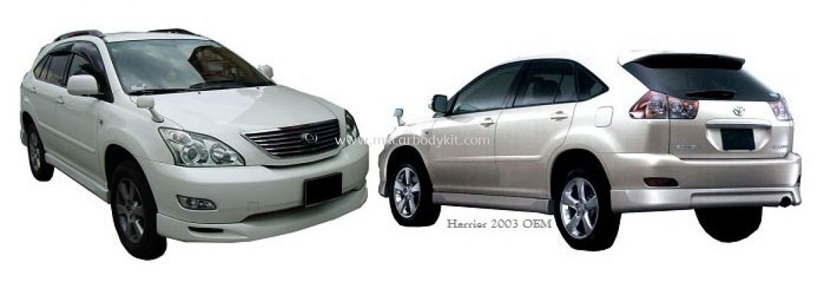 TOYOTA HARRIER 2003 OEM BODYKIT