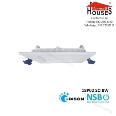 NSB 18P02 SQ 8W (DL CW WW) DOWNLIGHT