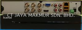 ICATCH KMH-0428EU H.265 DVR KMH-0428EU ICATCH 4CH HYBRID DVR ICATCH DVR