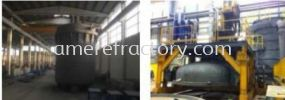 Vacumm Tank & Cover Auxiliaries & Spare Parts of Meltshop Refractory System