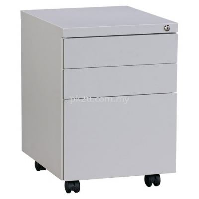 Steel Mobile 2 Drawers +1 File Pedestal