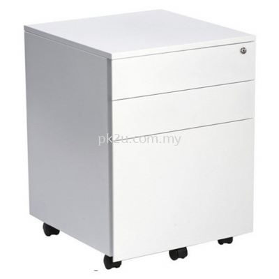 Steel Mobile 2 Drawers + 1 File Pedestal
