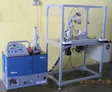 Pur Glue Dispensing Machine Equipped with Nordson Dispenser