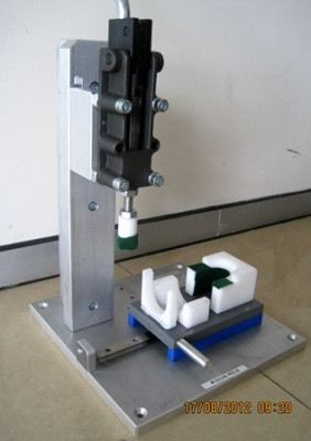 Lever Press Jig for Vacuum Cleaner Assy
