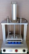Pneumatic Press Fixture for Portable Printer Assy Pneumatic Press Fixture Jigs & Fixtures
