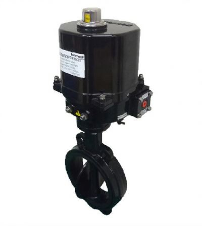 Honeywell Motorized Butterfly Valve (Actuated Wafer type butterfly valves)
