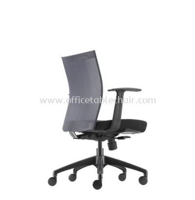MESH II EXECUTIVE LOW BACK CHAIR C/W ROCKET NYLON BASE MH-3N