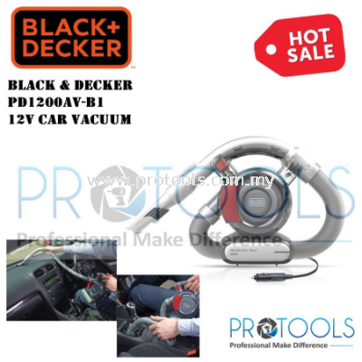 PD1200AV-B1 BLACK & DECKER 12V CAR VACUUM