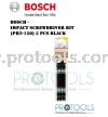 BOSCH IMPACT SCREWDRIVER BIT PH2-150 5PCS BLACK Bosch Power Tool Accessory