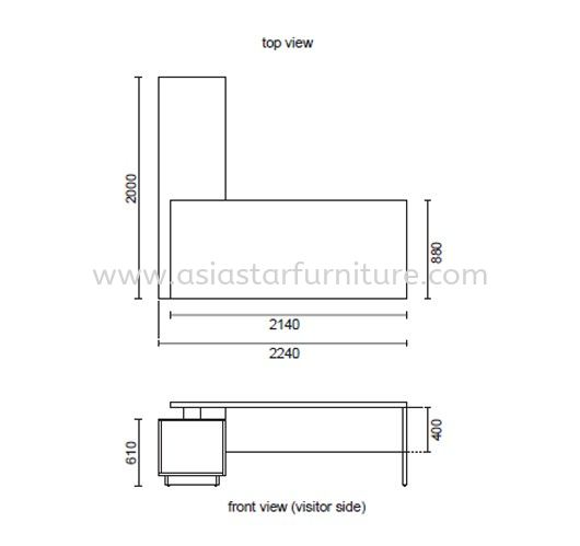 FERNI EXECUTIVE DIRECTOR OFFICE TABLE SPECIFICATION 1