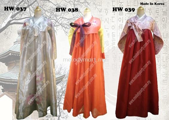HANBOK HW 037 -HW 039
