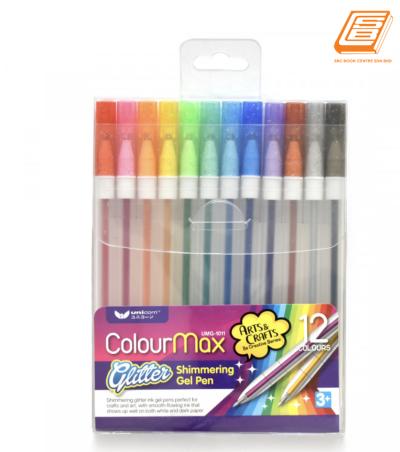 Unicorn Sparkle Gel Pen 12 Colour
