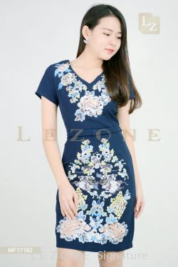 MF17182 LEANN EMBROIDERED FLORA【2 FOR RM149】