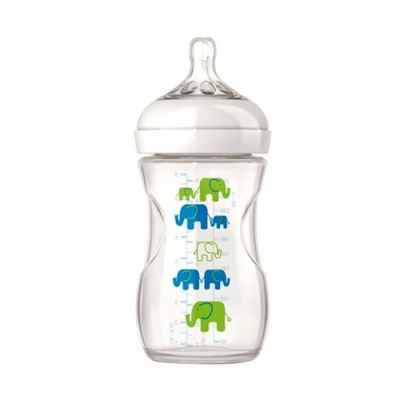 AVENT PP NATURAL BOTTLE 260ML 1M+ (SINGLE) ELEPHANT