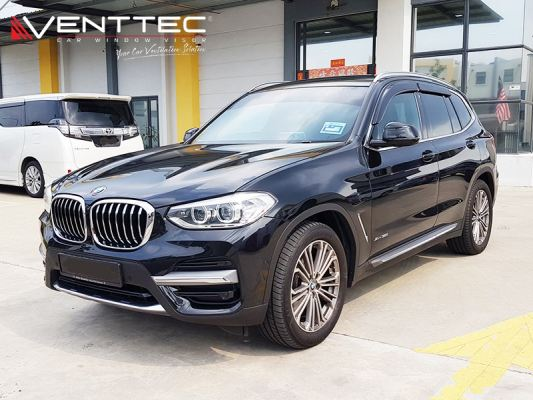 BMW X3 (G01) 18Y-ABOVE = VENTTEC DOOR VISOR