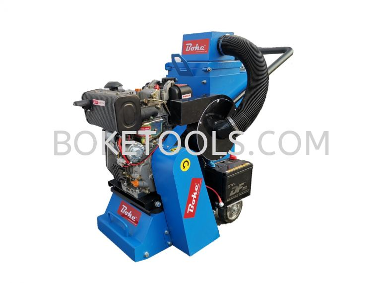 DIESEL SCARIFIER MACHINE WITH VACUUM CLEANER SFM-250DVE SCARIFYING MACHINE FLOOR & WALL MACHINE