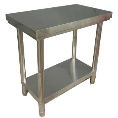 64401-S.Steel 2Tier Work table 800x450x800mm