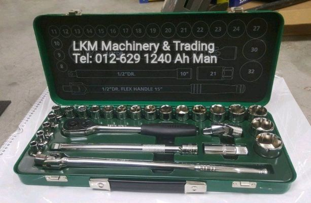 Sata 25pcs 1/2' Socket Set 09092ME/09092ME12