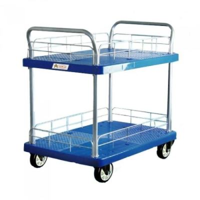 PVC PLATFORM TWO TIER HAND TRUCK