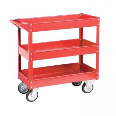 3 Trays Steel Tool Cart AM-003