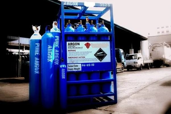 Pallet Argon gas