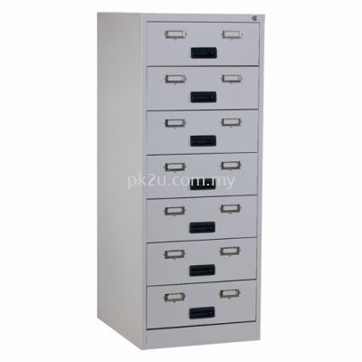 7 Drawers Card Index Cabinet