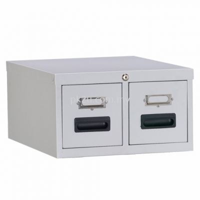 2 Drawers Card Index Cabinet
