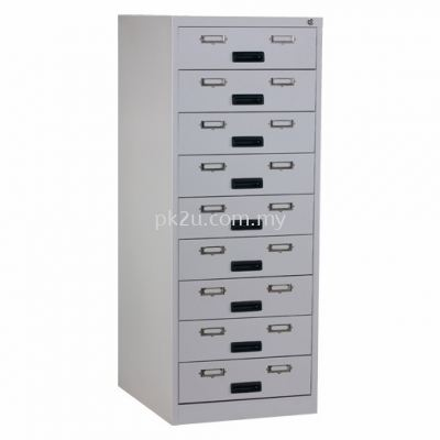 9 Drawers Card Index Cabinet