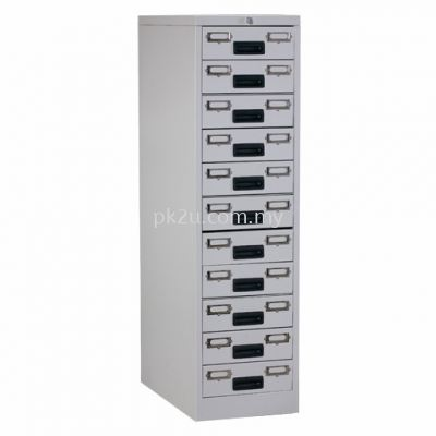 11 Drawers Card Index Cabinet