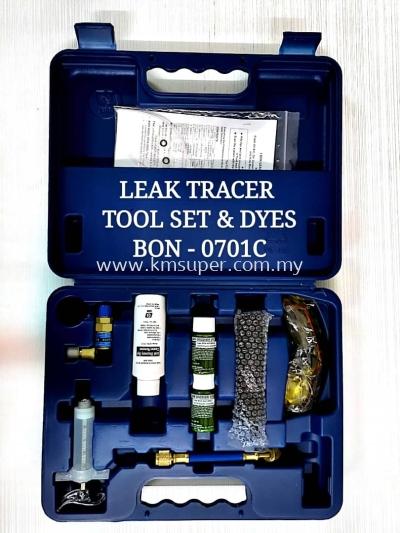 BON-0701C - I.BON REFRIGERANT UV LEAK TRACER TOOL SET & DYES ; FLUORESCENCE LEAK DETECTION