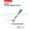 MAKITA CL106FDWYW 12V CORDLESS CLEANER - 1 YEAR WARRANTY Makita Vacuum Cleaners