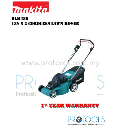 MAKITA DLM380Z �C 18Vx2 Cordless Lawn Mover - BARE UNIT ONLY