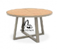 JARDIN ROUND DINING TABLE 125 DINING TABLE/CHAIR Outdoor Furniture Home Furniture