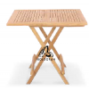FOLDING TABLE-SQUARE 85 DINING TABLE/CHAIR Outdoor Furniture Home Furniture