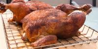 Smoke Whole Chicken Frozen Food