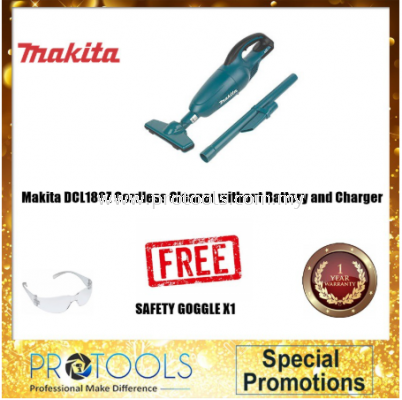 MAKITA DCL180Z CORDLESS CLEANER WITHOUT BATTERY & CHARGER SOLO