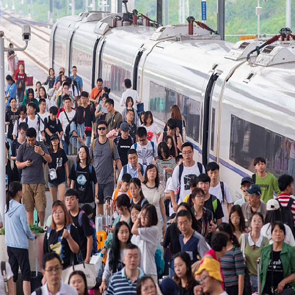 735 million railway trips made in China during summer travel rush Others