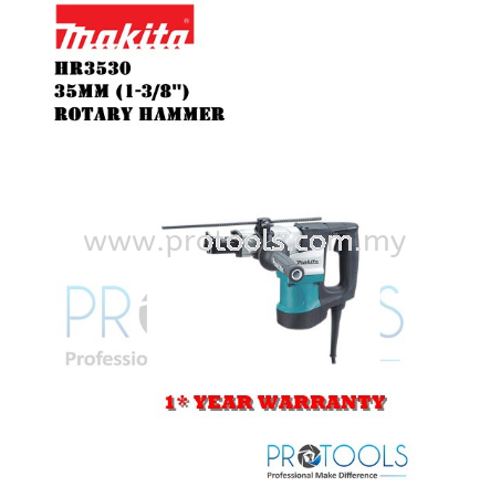 MAKITA HR3530 35mm (1-3/8″) �C Rotary Hammer - 1 YEAR WARRANTY