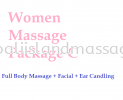 Women Massage Package C Women Massage Package