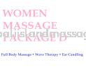 Women Massage Package D Women Massage Package