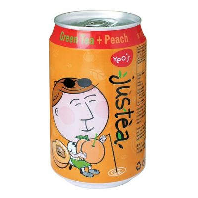 Yeo's Justea Green Tea Peach