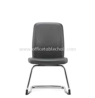 ARONA EXECUTIVE VISITOR BACK CHAIR WITHOUT ARMREST C/W EPOXY BLACK CANTILEVER BASE AR 5314L