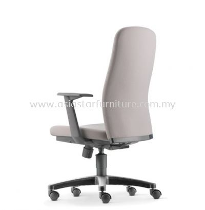 ARONA EXECUTIVE MEDIUM BACK CHAIR C/W POLYPROPYLENE BASE AR 5311F